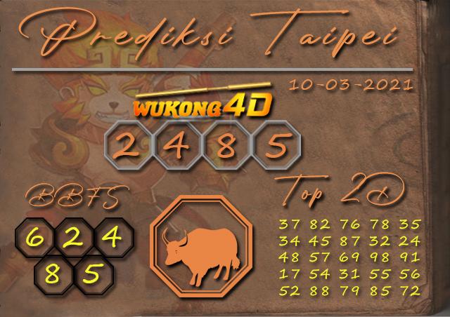 PREDIKSI TOGEL TAIPEI WUKONG4D 10 MARET 2021