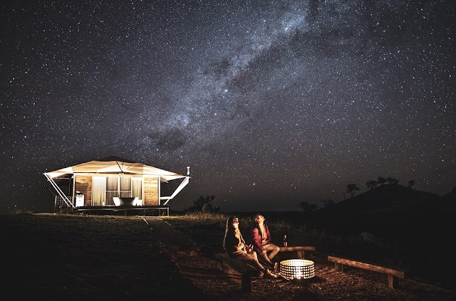GLAM-WORTHY GLAMPING IN NEW SOUTH WALES AUSTRALIA