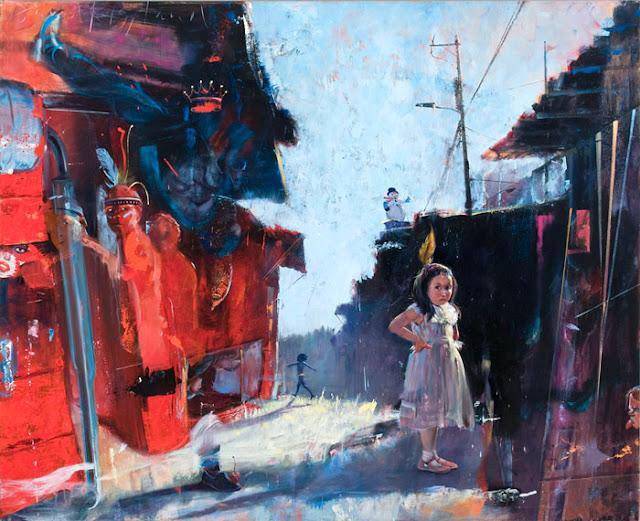 New York Paintings Series | David FeBland | 1949