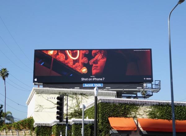 Shot on iPhone 7 Arif J billboard