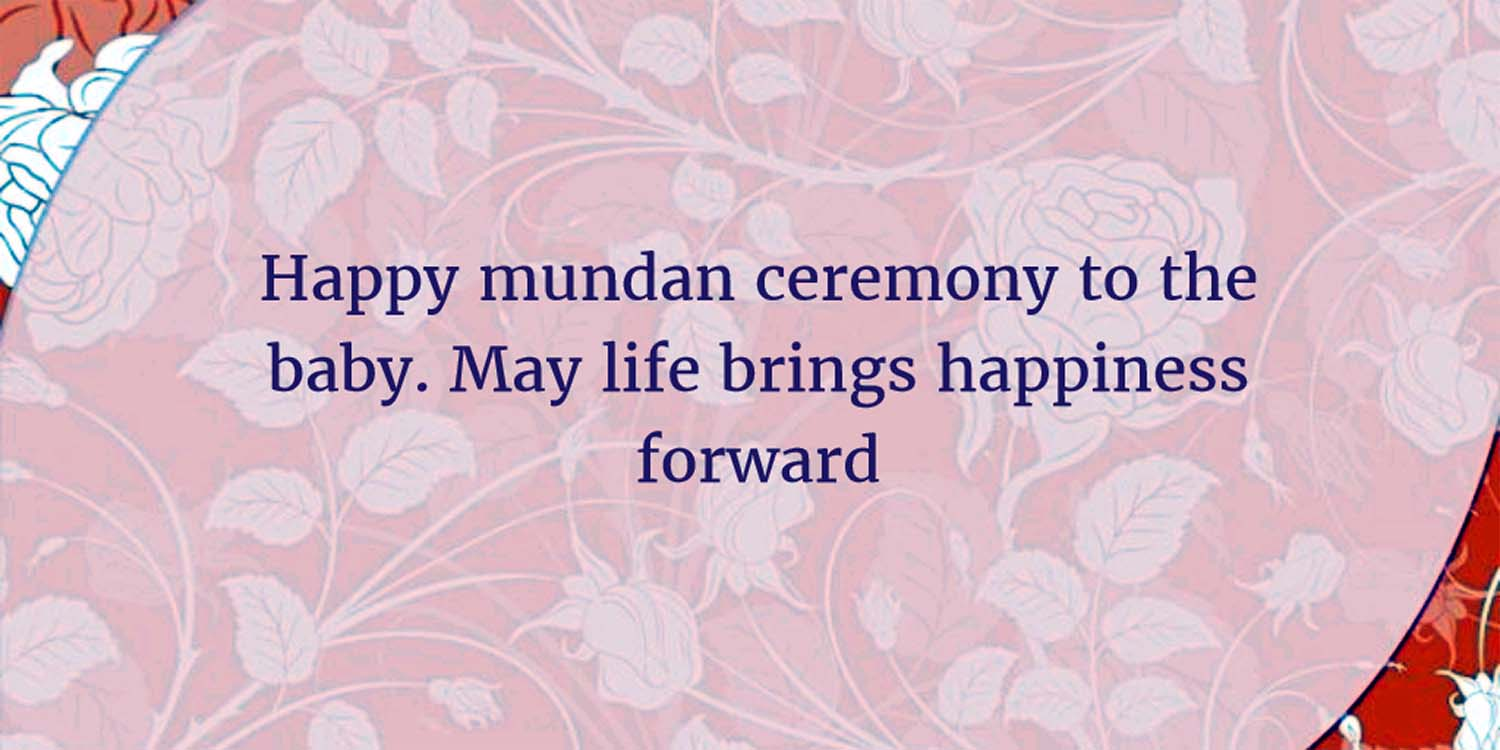 mundan ceremony quotes in hindi