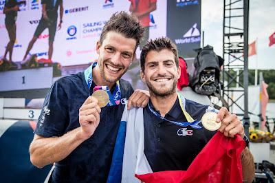 Kévin Peponnet - Jérémie Mion sélectionnés pour les Jeux Olympiques