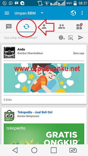 Cara Posting Foto di Aplikasi BBM Android dan IOS