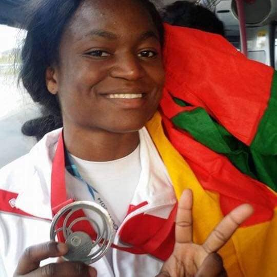 JEUX AFRICAINS 2019 : HELENE WEZEU OFFRE AU CAMEROUN SA PREMIÈRE MÉDAILLE D'OR