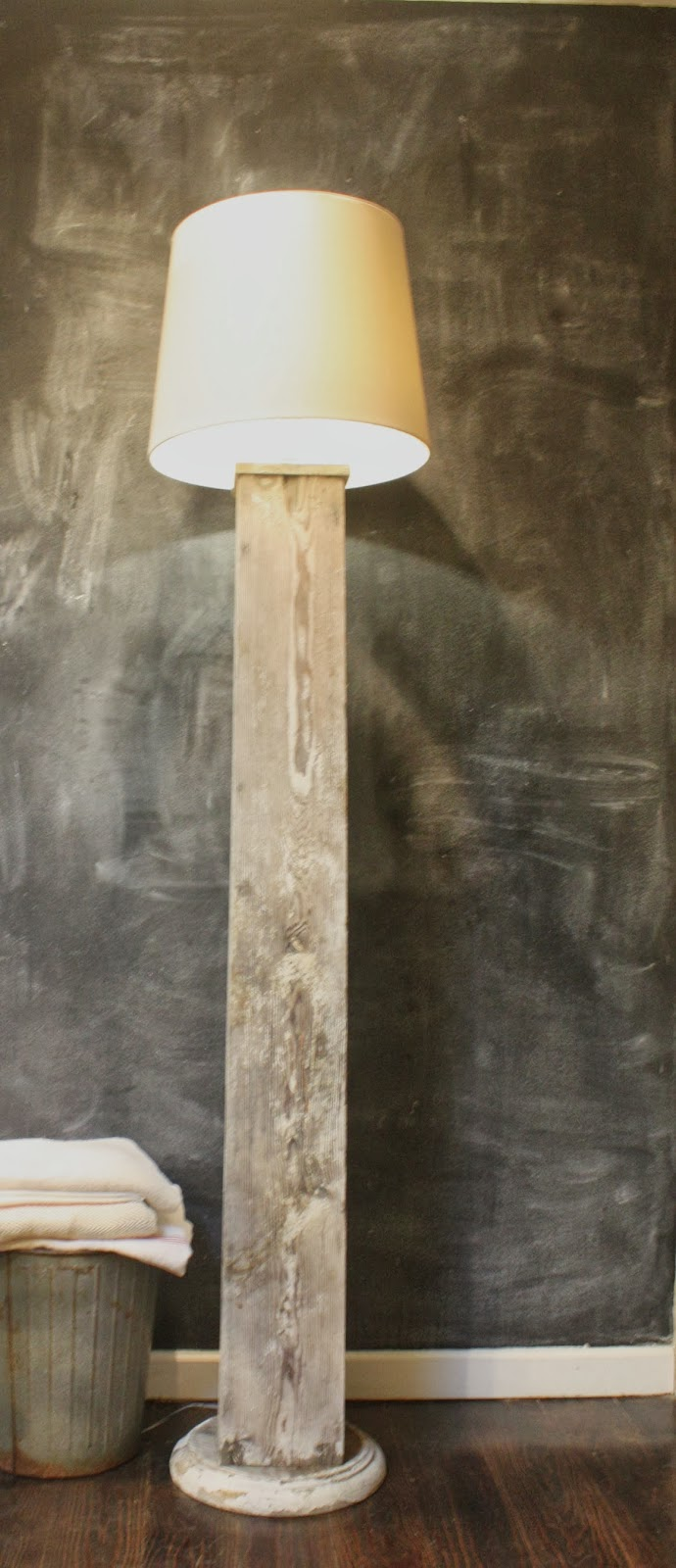 My Sweet Savannah Thrifty Thursday Make A Column Lamp