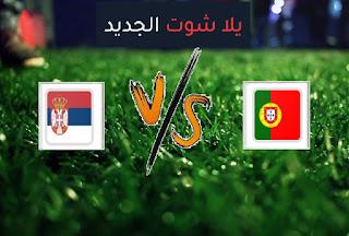 نتيجة مباراة البرتغال وصربيا اليوم السبت 27-03-2021 تصفيات كأس العالم