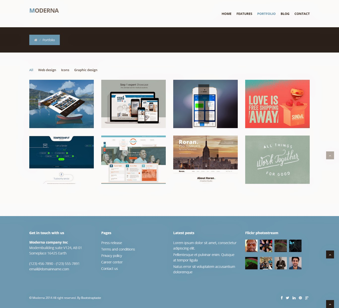 Website Templates Free Download Full: Responsive Website Templates Free Download
