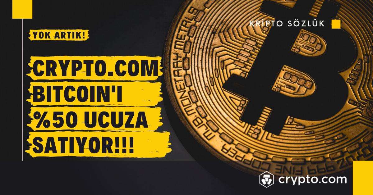 %50 İndirimli Bitcoin Satışı Başladı!