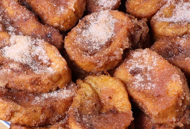 Torrijas al horno con canela y azúcar