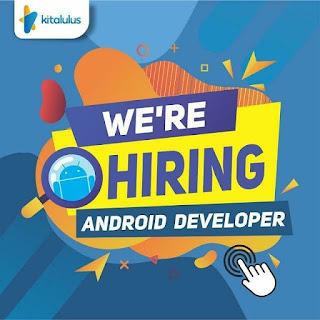Lowongan Kerja Android Developer