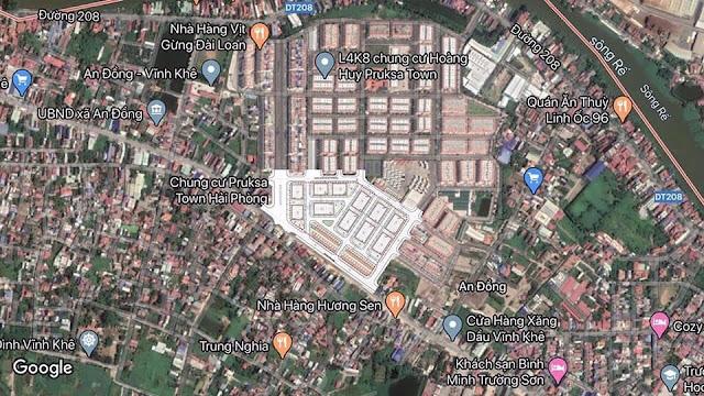 Vị trí Hoàng Huy Nguyễn Du