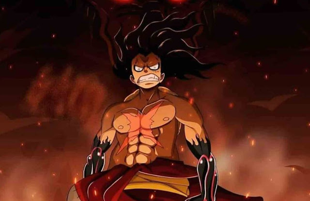 This is how Luffy defeated Kaido's troops alone!