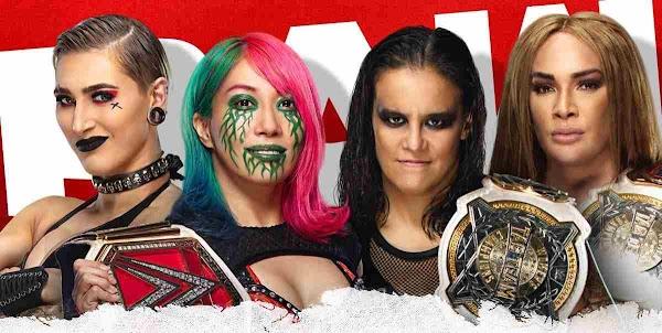 Ver Wwe Raw Online En Vivo 5 de Abril de 2021