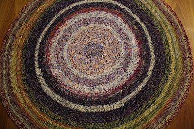 Okrągły dywanik :)