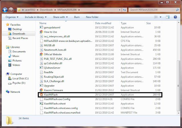 Non-Installer Xiaomi Flash Tool 2