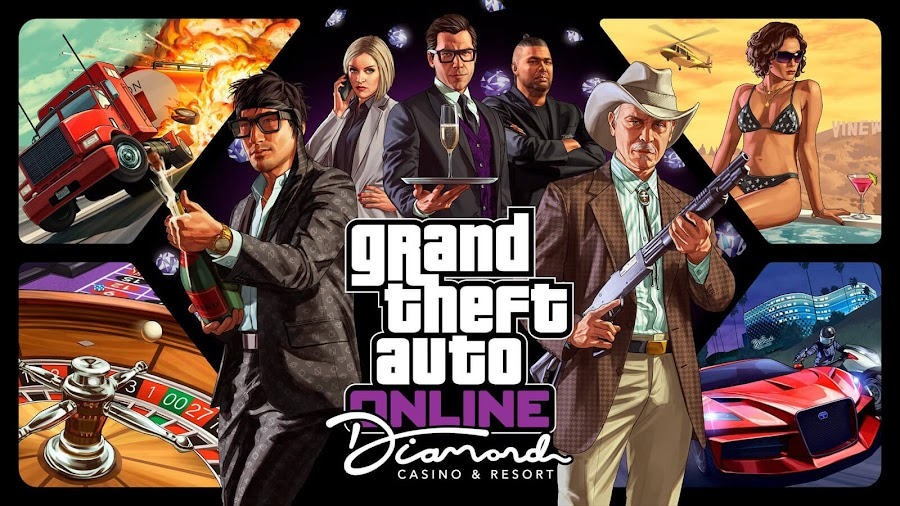 gta online casino update ps4 xbox one pc release date rockstar games