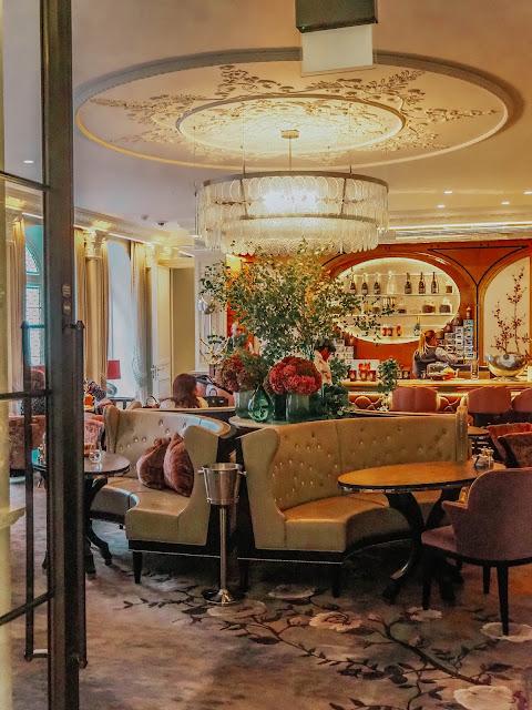 Belmond Cadogan Hotel Lounge Afternoon Tea Review