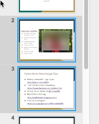 google slides share a slide instead of pasting it