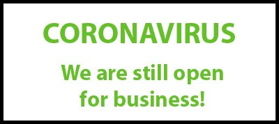 Coronavirus - We Are Still Open from Kallistra