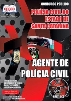 APOSTILA CONCURSO PÚBLICO POLÍCIA CIVIL DE SC 2014.