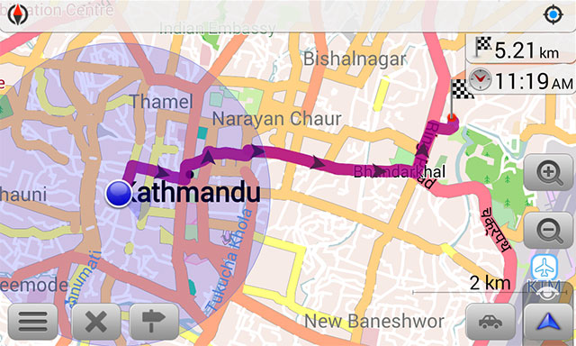 Offline SmartPhone Maps: OSMAnd Maps & Navigation for Travelling