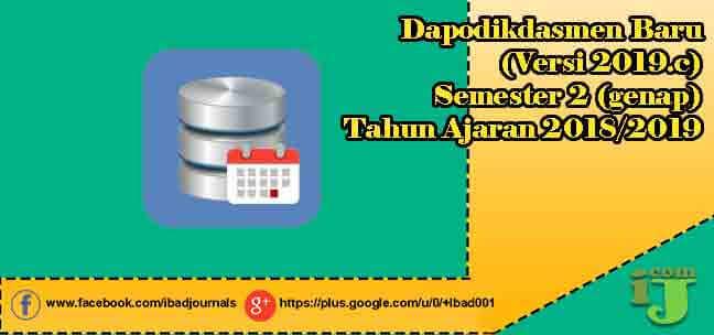 Installer Dapodikdasmen Rilis Dapodik (Versi 2019.c)