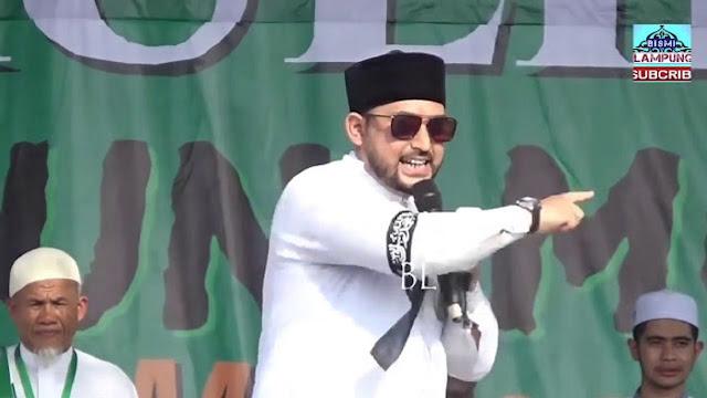 Ustadz Al Habsyi Sebut 'Setan' Jakarta Pindah ke Kalimantan karena Kepanasan