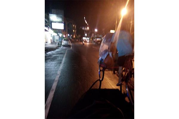 Becak kendaraan tradisional