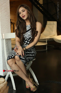 Telugu Actress Angela Krislinzki Latest Pos in Short Dress  0164.JPG