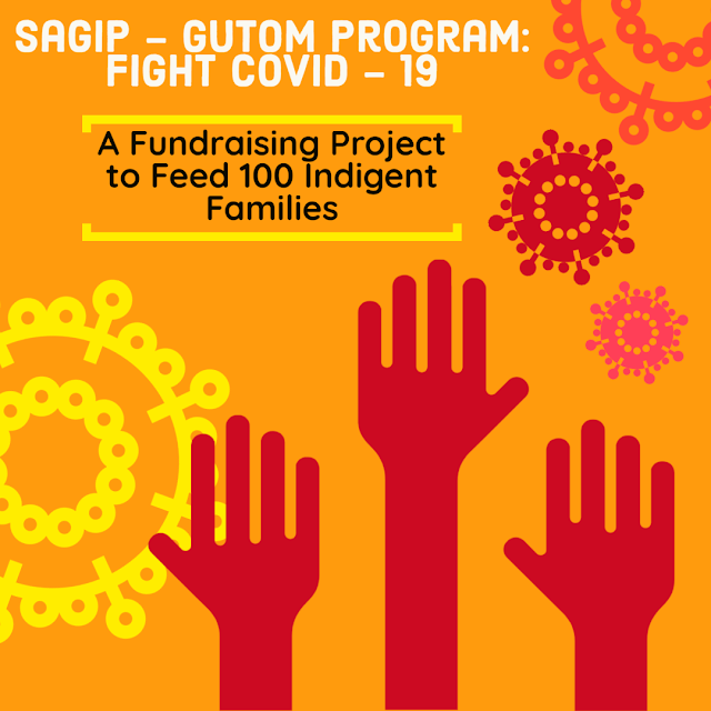 Sagip-Gutom Program: Fight Covid-19 A Fundraising Project to Feed 100 Indigent Families, Fundraising Program for Coronavirus Crisis PH, Relief Goods PH for Indigent Families, Reflections, Campaign,  Cristina Oguin, Covid-19 Relief Goods, All-Around Pinay Mama blog, SJ Valdez