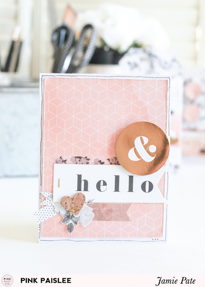Pink Paislee C'est La Vie Cards | @jamiepate for @pinkpaislee