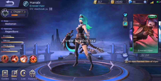 Pada pembaharuan patch lalu mobile legends menghadirkan fitur menarik dimana pemain dapat Download Script Painted Skin All Hero Mobile Legends