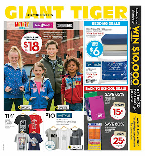 Giant Tiger Lower Price Flyer valid August 16 - 22, 2017
