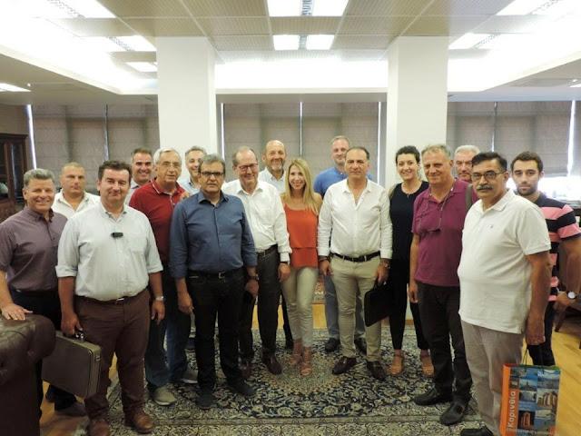 Συνάντηση Νίκα με τους Προέδρους των Επιμελητηρίων της Πελοποννήσου