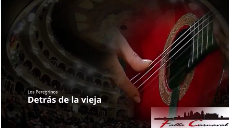 """Pasodoble con Letra """"Detrás de la Vieja"""". Comparsa """"Los Peregrinos"""" (2017)"""