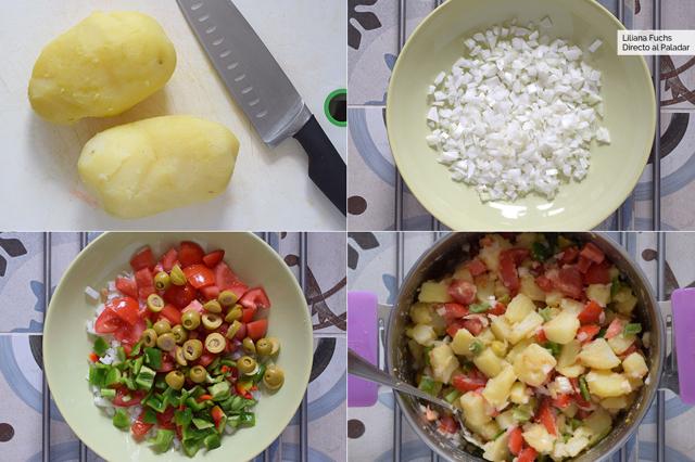 Ensalada campera: receta fácil imprescindible para el verano