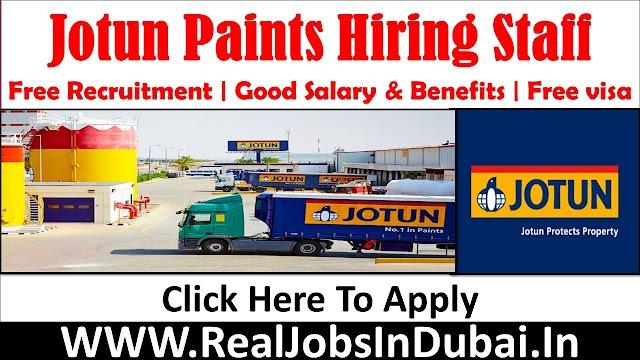 Jotun Paints  Hirint Staff In Saudi & UAE- 2021
