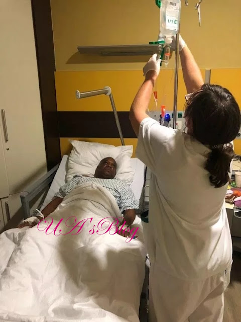 BREAKING!!! SEE Photos of Orji Kalu in German Hospital Bed