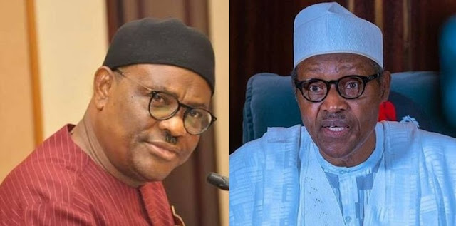 'You're president to protect Nigerians, not just borrowing money' - Gov Wike To Buhari