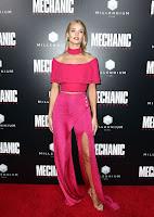 Rosie Huntington-Whiteley best red carpet dresses Mechanic Resurrection premiere