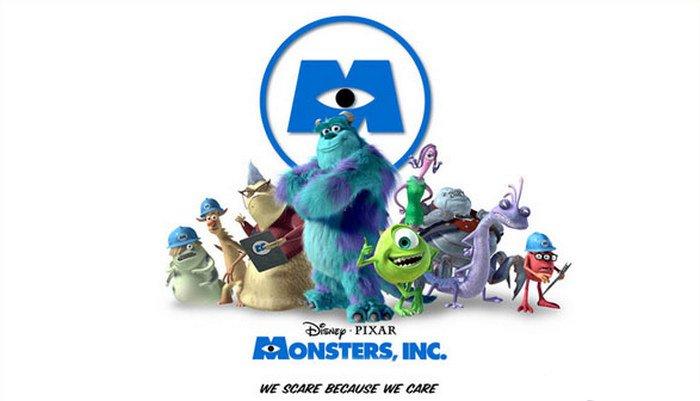 Monsters Inc (2001) Fixar Movie Wallpapers, film animasi terbaru terbaik terpopuler sepanjang sejarah myanimelist