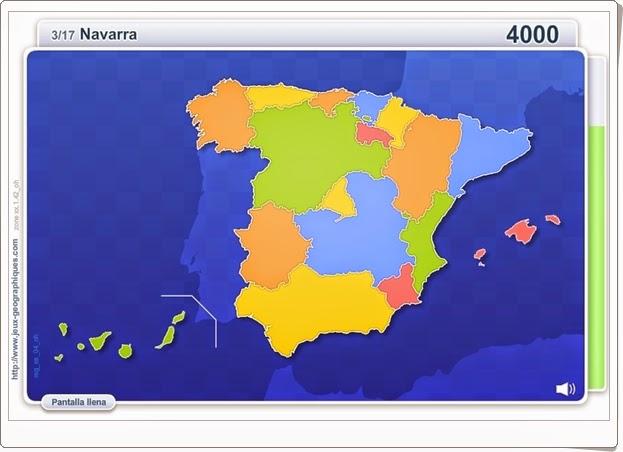 """""""Comunidades de España"""" (Ciencias Sociales de Primaria)"""