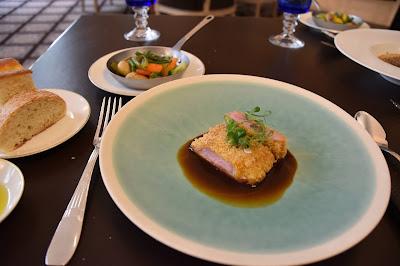Plat restaurant le George (8 -ème), blog Délices à Paris.