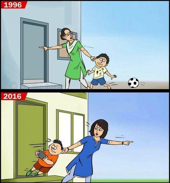 1996'da Çocuklar / 2016'da Çocuklar