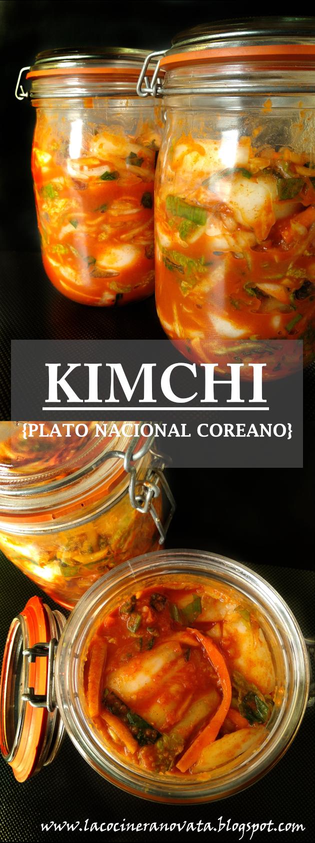 kimchi {plato Nacional Coreano}