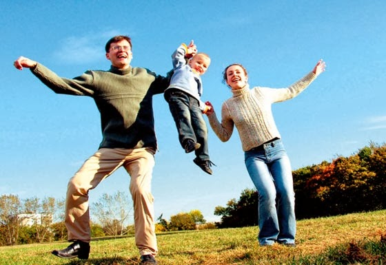Keluarga bahagia dan sihat