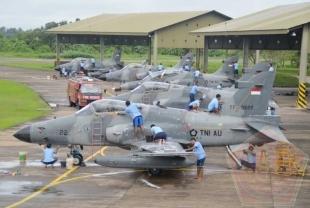 Tradisi Akhir Tahun Skadron Udara I Lanud Supadio Gelar Acara Mendikan Pesawat - Commando