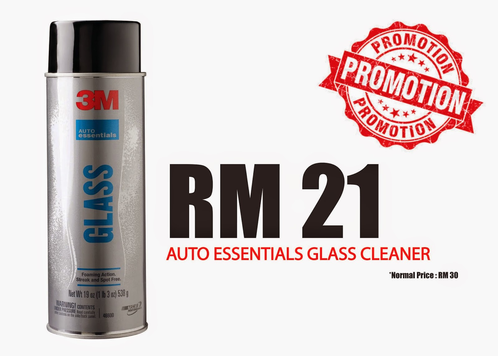 3M Auto Essential - Glass Cleaner