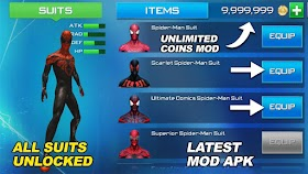 The Amazing Spiderman 2 Mod Apk + Data  Full 2019