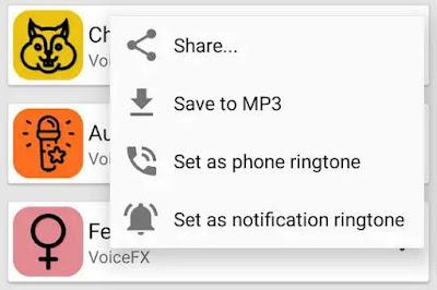 aplikasi Pengubah Suara – Perekam Suara & efek suara